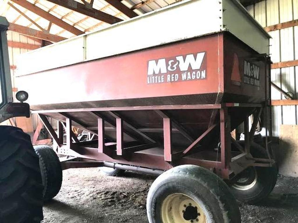 M&W 400 bu. Gravity Box & Gear