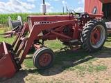 1965 Farmall 656 Gas Tractor W/Westenforf Loader