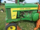 1956 John Deere 620 Gas Tractor