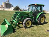 2011 John Deere 5093E FWA Tractor w/563 Loader