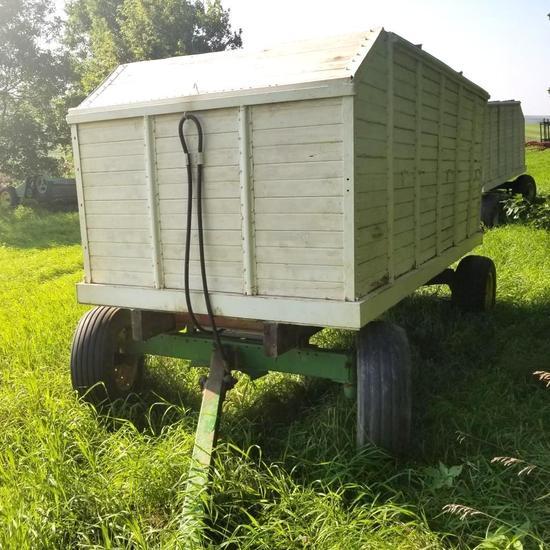 6x12 BARGE BOX W/ JOHN DEERE GEAR