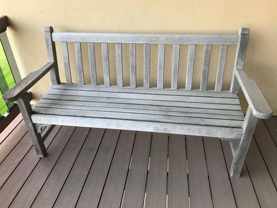 Kingsley-Bate patio love seat