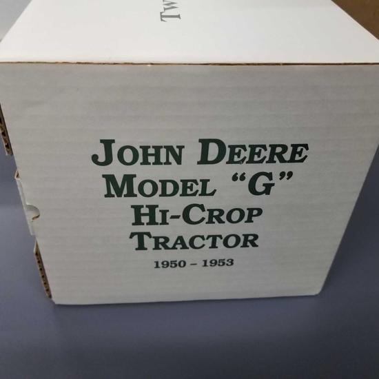 "JOHN DEERE MODEL ""G HIGH CROP"" 1997 2 CYLINDER CLUB #7"