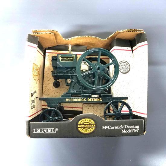 """McCORMICK DEEREING MODEL """"M"""" HIT/MISS ENGINE"""