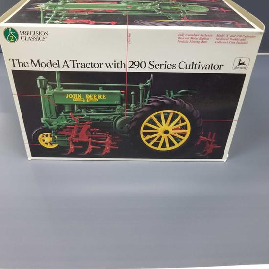"""PRECISION CLASSIS JOHN DEERE MODEL """"A"""" WITH """"290"""" CULTIVATOR"""