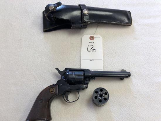 """Rohm Sontheim """"RG 66"""" Revolver w/ 2 Cylinders"""