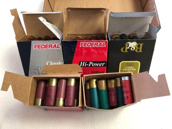 Assortment 12 ga. Shotgun Ammunition