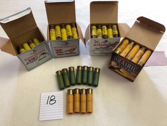 Assortment 20 ga Shotgun Ammunition