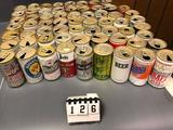 Assortment Black Label, Ballantine, Blatz, Benefit, Birell, Blackhawk, Buckhorn, Bob's, Bavarian
