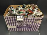 Large Assortment Unsorted Modern Cans