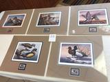 Assortment Ducks Unlimited Prints/Stamps