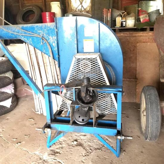 Roto-Blower Bunk Blower 3 Point Mounted