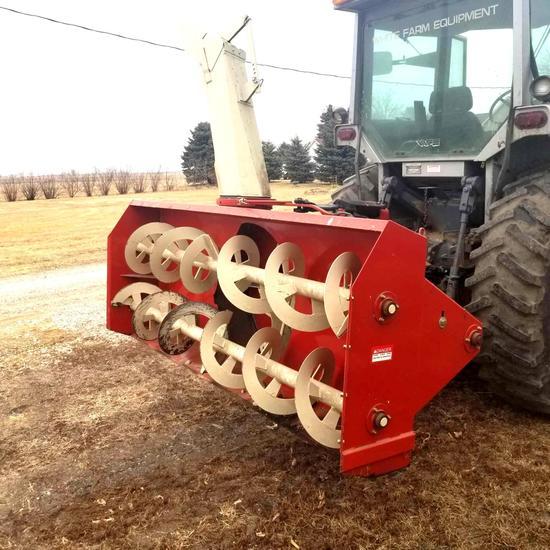 Buhler/Farm King 960 Snowblower 8' Mounted