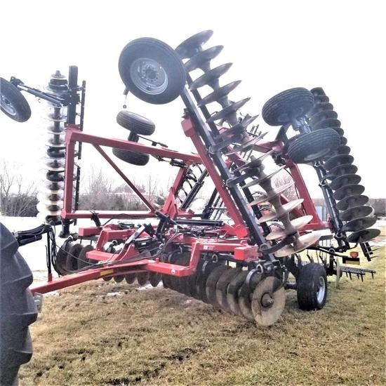 Case IH RMX 370 34' Disk Harrow Rock Flex Spike Harrow