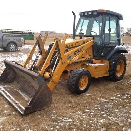 Case 570LXT Construction Loader Cab MFD