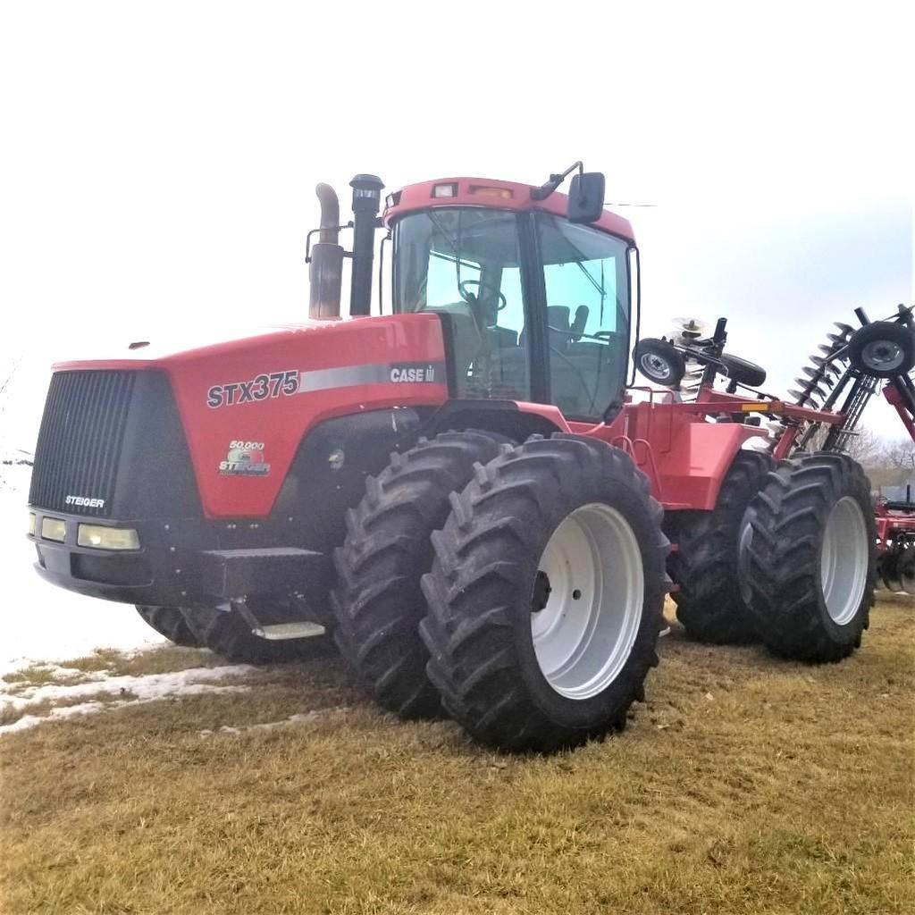 2005 Case IH STX 375 4wd Wheel Powershift 1000 Pto Duals ONLY 1640 Hours