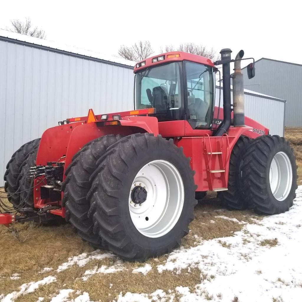 Lot: 2005 Case IH STX 375 4wd Wheel Powershift 1000 Pto