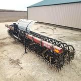 M&W 1815 MT 15' Rotary Hoe Min Til 3 Point Mounted