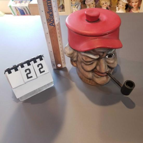 """""""Popeye"""" Tobacco Bank """"To Mark from Maudie"""" 6"""""""