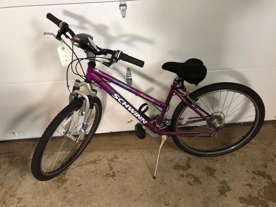 Schwinn Sidewinder 21-speed girls bike, nice condition, NO SHIPPING!