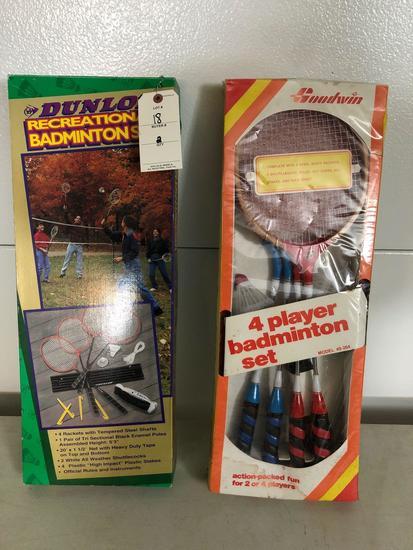 4-player Badminton set