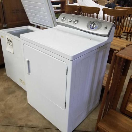 G.E. Profile Gas Dryer