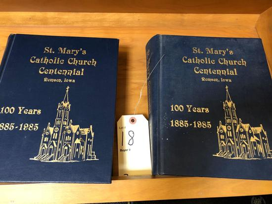 2 Remsen St. Mary's Catholic Church Centennial photo books
