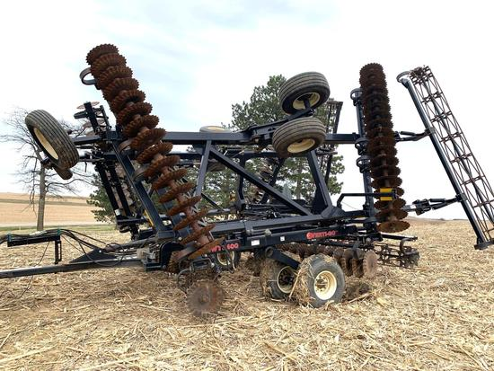 2012 EarthMaster Vertical Tillage MWT3400 34'