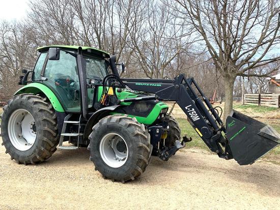 2006...Duetz-Fahr Agrotron 120 MFD tractor