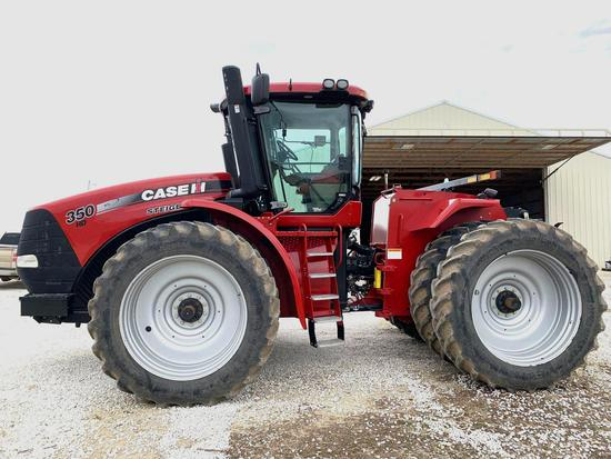 2012 CASE IH STEIGER 350 HD ARTICULATED 4 WHEEL DRIVE TRACTOR