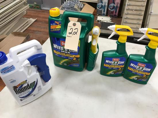 Assortment Liquid Weed Lawn Weed Control Products
