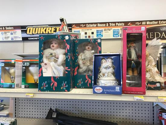Assortment of Dolls