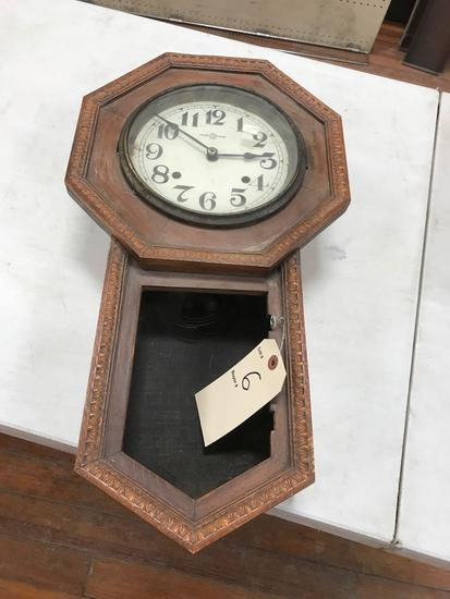 Wall Clock 11 in. Wide x 23 in. High