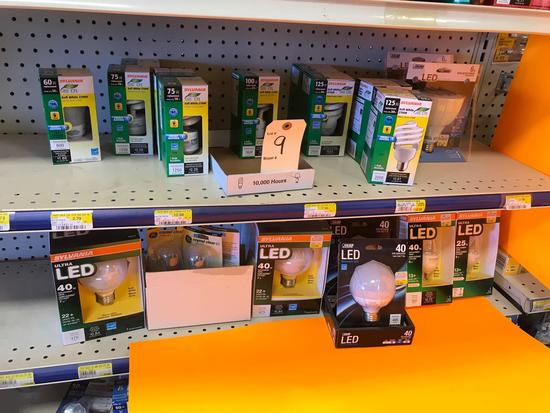 Assortment LED Light Bulbs