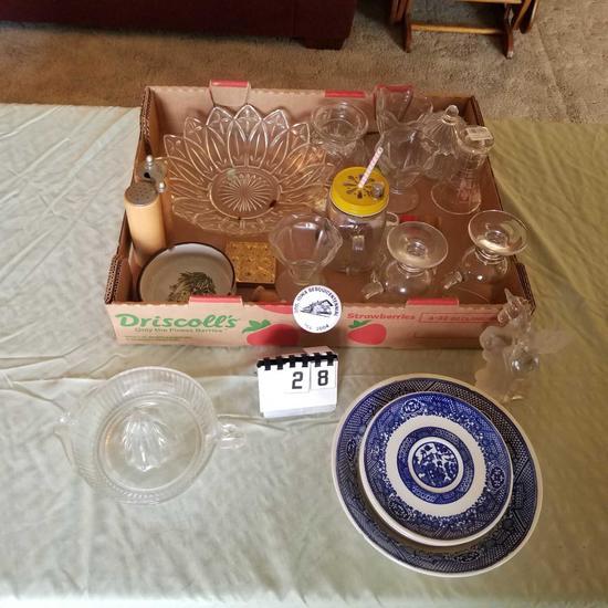 Assortment Juicer, Sherberts, Salt and Pepper Set,