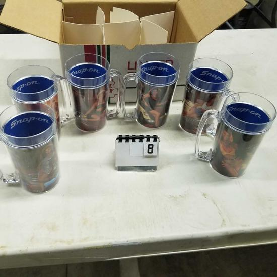 SNAP ON Tool Mates Thermo Mugs