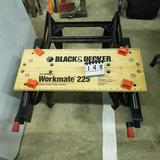 BLACK and Decker Workmaster 225 Folding Clamping Work Bench