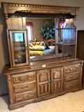 Modern Mirrored Dresser With Side Storage