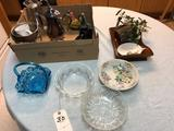 Assortment incl. Candy Dishes, Tea Server, and Pitchers