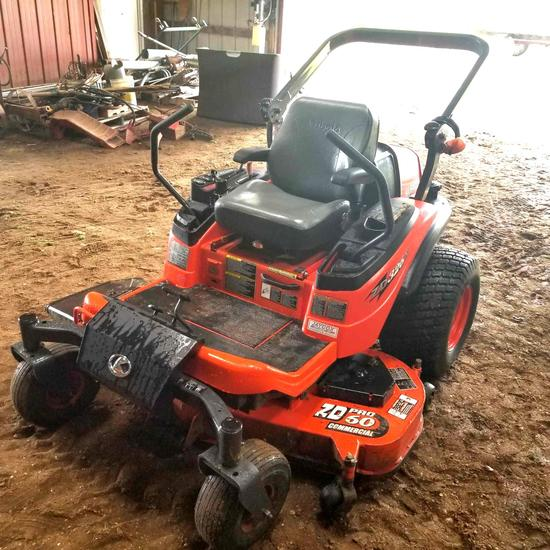 "'08 Kubota ZD326 S Zero Turn Lawn Mower 60"" Deck"