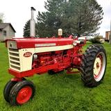 1963 IH 560 Diesel Tractor, Narrow Front, 2 Point Hitch, Restored