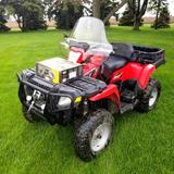 Polaris Sportsman 800 ATV, 4 x4, Auto Transmission, Dump Box