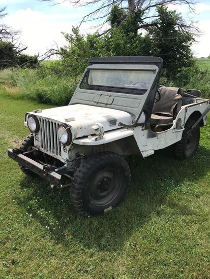 Willys Jeep 4WD w/ 4 cyl. Engine