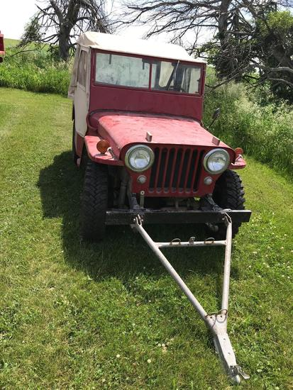 1947 Willys 4WD Jeep
