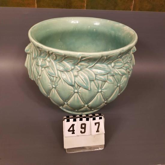 McCoy Green Leaf Vase