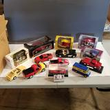 Assortment Collectible Toy Cars, Pickups and Coin Banks