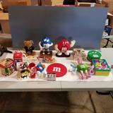 M&M Collectible Items inc. Tins, Dolls, and Figurines