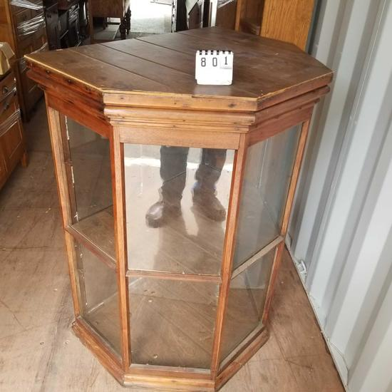 5 View Display Cabinet Rear Entry
