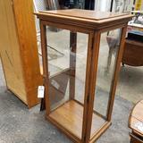 Wood Frame Glass Display
