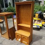 Open Front Shelf Cabinet